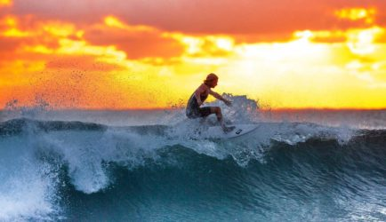 Upgraded Wave Surfing Board
